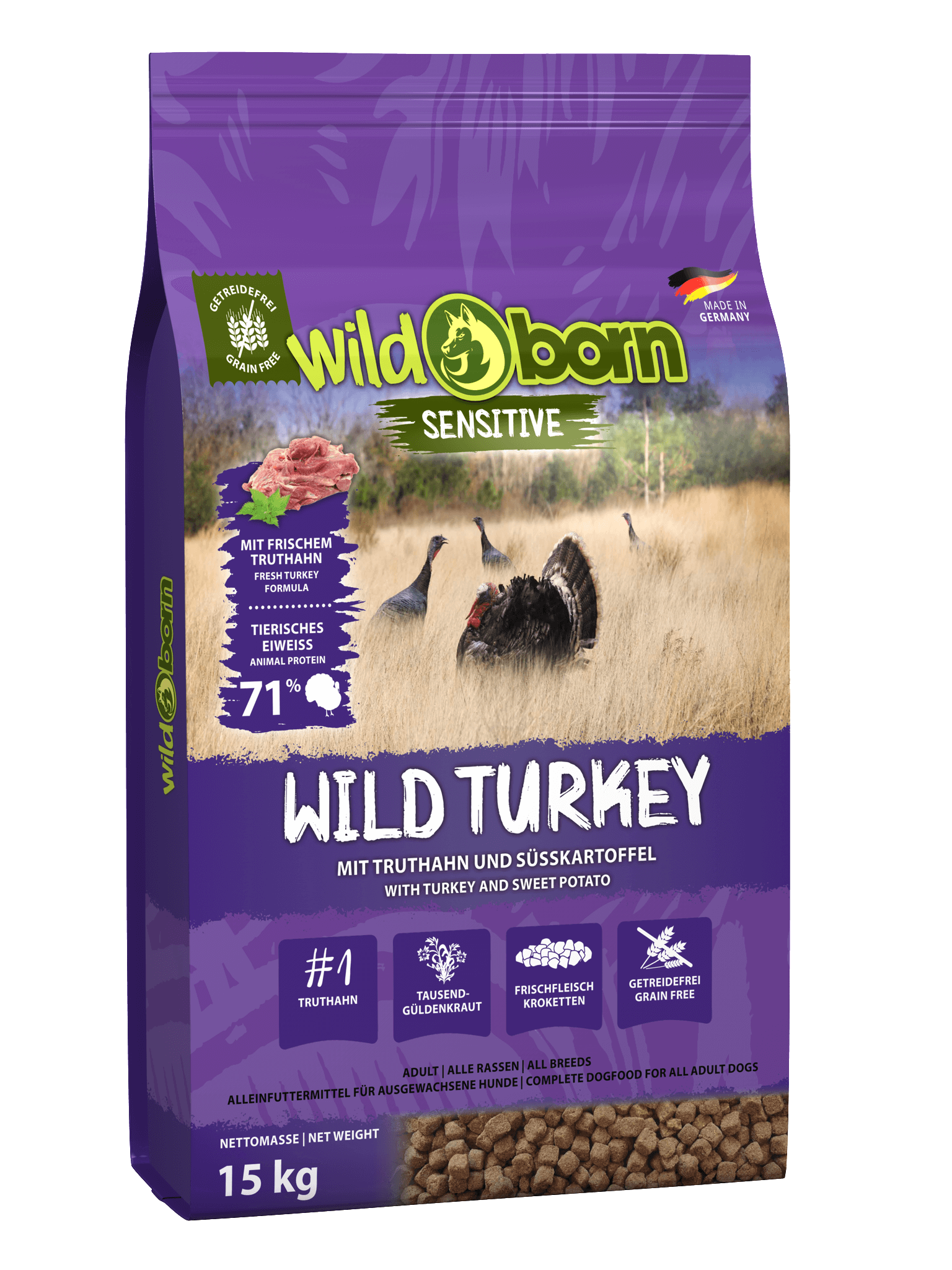 WILDBORN Wild Turkey - mit Truthahn