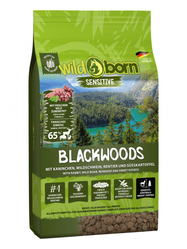 Wildborn Blackwoods 8kg mit Wildschwein