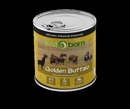 Wildborn Golden Buffalo Nassfutter mit Büffel 6x400g