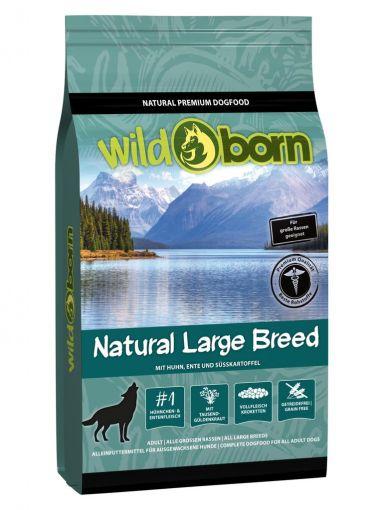 Wildborn Natural Large Breed 15kg für große Hunderassen