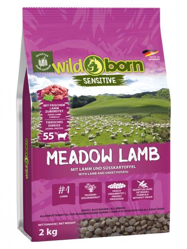 Wildborn Meadow Lamb 2kg mit Lamm
