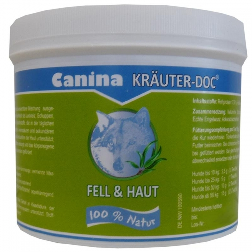 Canina Pharma KRÄUTER-DOC Fell & Haut 300g