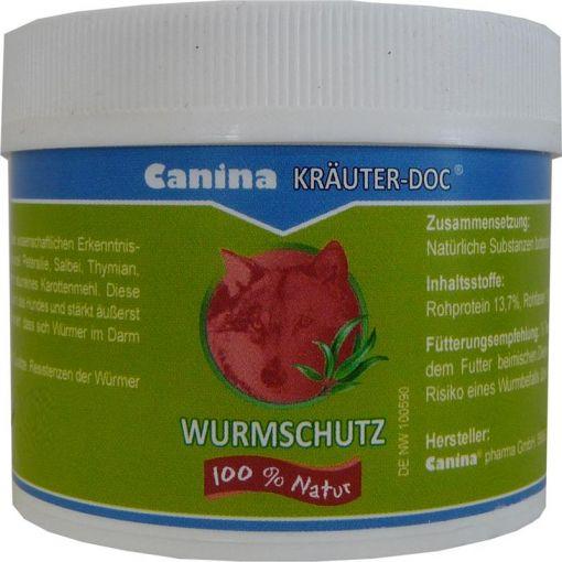 Canina Pharma KRÄUTER-DOC Wurmschutz 25g