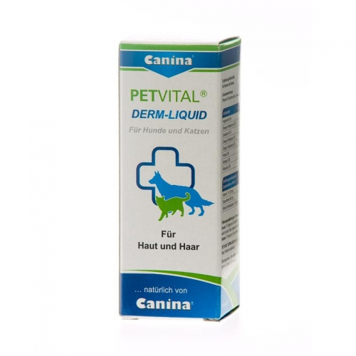Canina Pharma PETVITAL Derm Liquid 25 ml