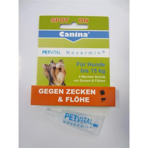 Canina Pharma PETVITAL Novermin für kleine Hunde 2ml