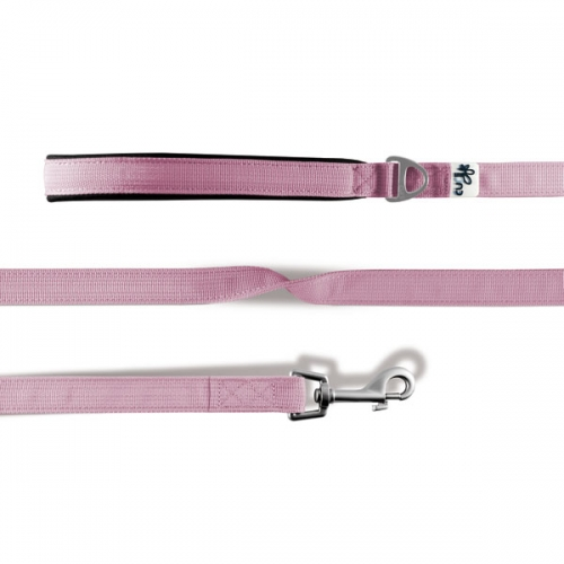 Curli Basic Leine Nylon 140x2cm Pink