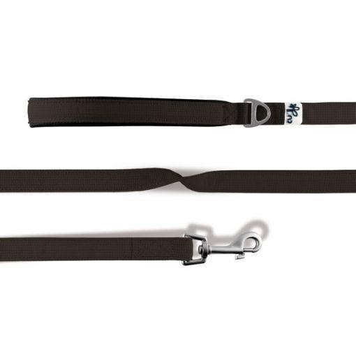 Curli Basic Leine Nylon 140x2cm Braun