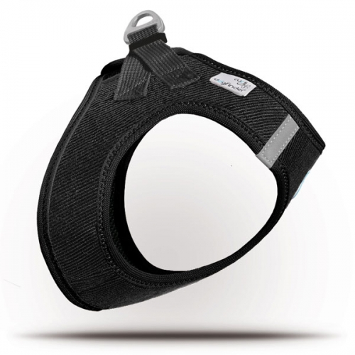Curli Vest Geschirr Cord Schwarz 3XS