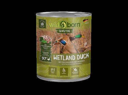 Wildborn Wetland Duck Nassfutter mit Entenfleisch 6x800g