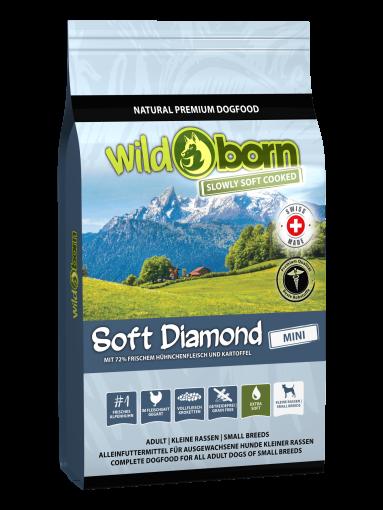 Wildborn SOFT DIAMOND MINI mit frischem Alpenhühnchen 12kg