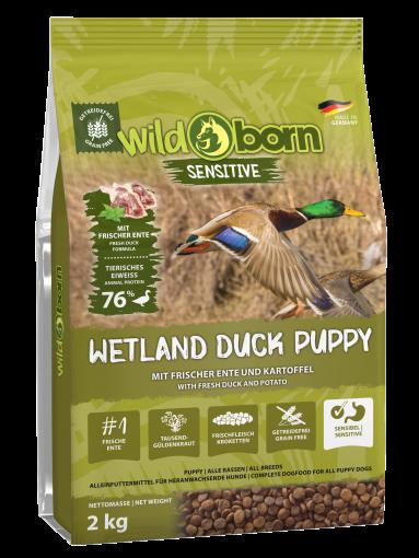 Wildborn Wetland Duck Puppy Sensitive mit viel frischer Ente 2kg