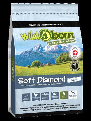 Wildborn SOFT DIAMOND MINI mit frischem Alpenhühnchen 1,0 kg