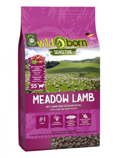 Wildborn Meadow Lamb 8kg mit Lamm