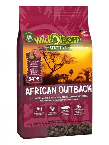 Wildborn African Outback mit Straußenfleisch 8kg