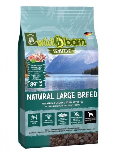 Wildborn Natural Large Breed 8kg für große Hunderassen