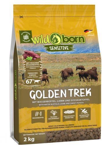Wildborn Golden Trek 2kg mit Wasserbüffel