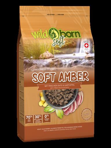 Wildborn SOFT AMBER mit frischem Schweizer Entenfleisch 12kg