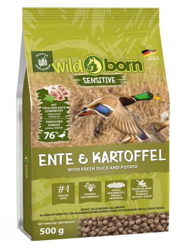 Wildborn Ente & Kartoffel 500g