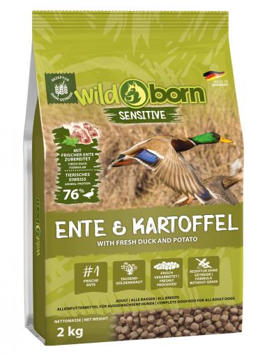 Wildborn Ente & Kartoffel 2kg