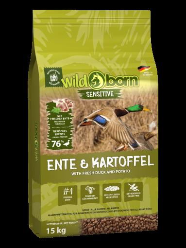 Wildborn Ente & Kartoffel 15kg
