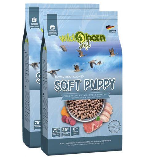 Wildborn SOFT PUPPY für Welpen Doppelpack 2 x 12 kg
