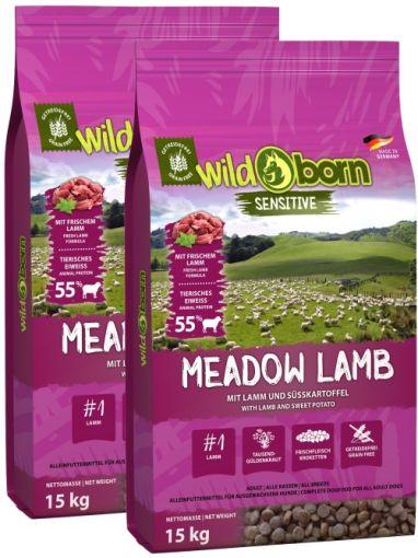 Wildborn Meadow Lamb Doppelpack 2 x 15kg mit Lamm