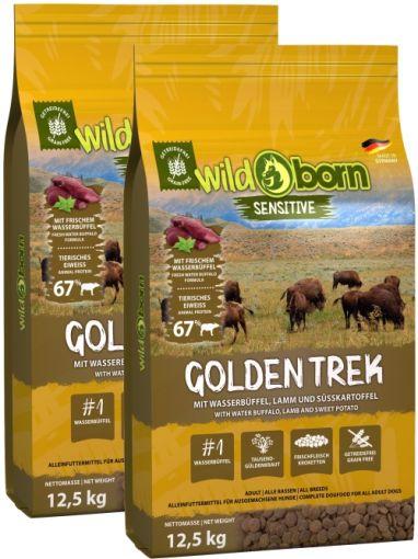 Wildborn Golden Trek Doppelpack 2 x 12,5kg mit Wasserbüffel