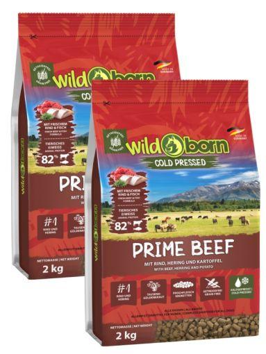 Wildborn PRIME Beef Doppelpack 2 x 15kg kaltgepresst mit Rindfleisch