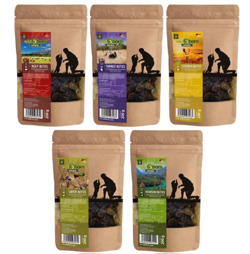 Wildborn Natural Snack Bites Hundesnack Multipack 1