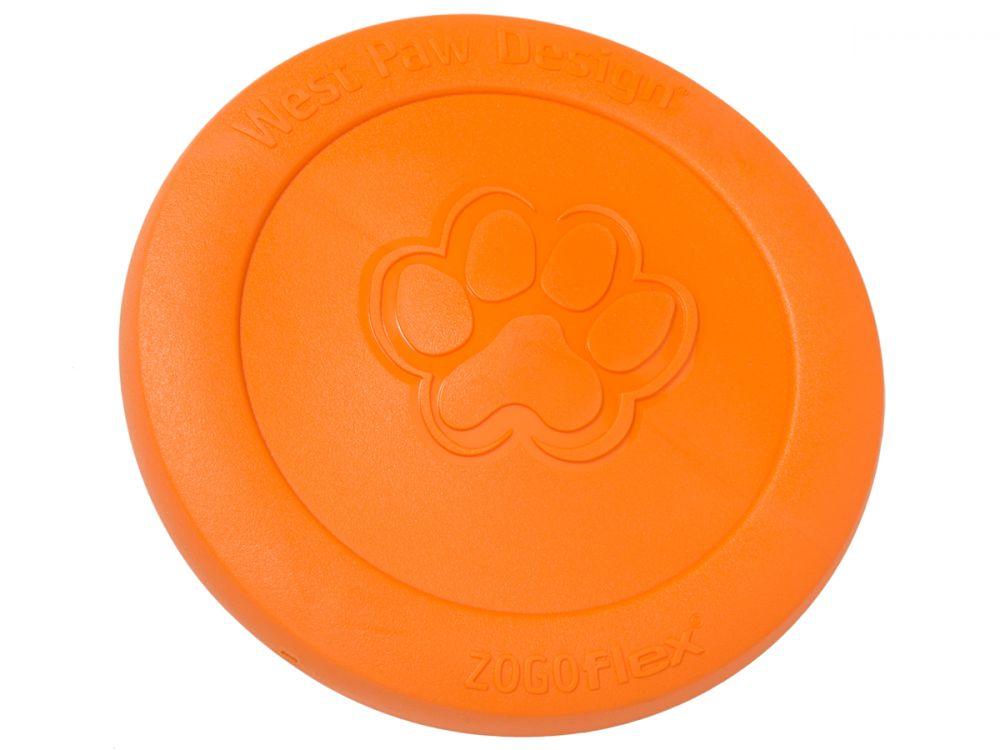 West Paw Large Zisc Hundefrisbee 22 cm Orange