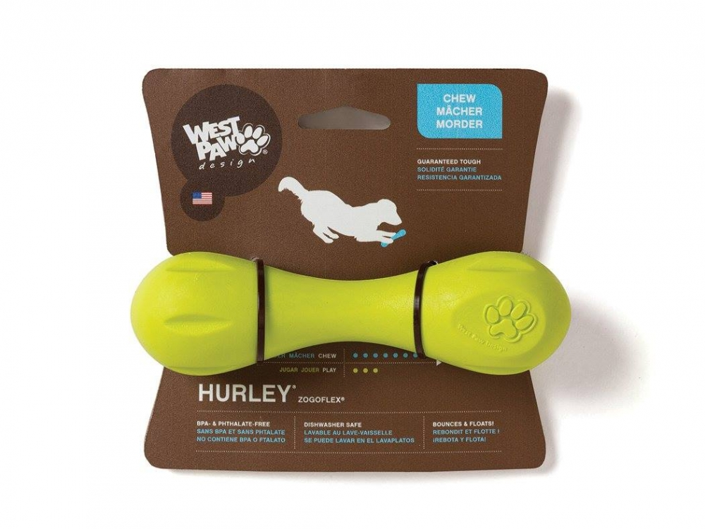 West Paw Hurley Large 20 cm Lime