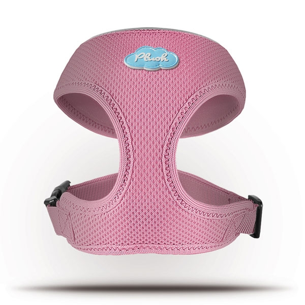 Curli Basic Geschirr Air-Mesh Pink XS