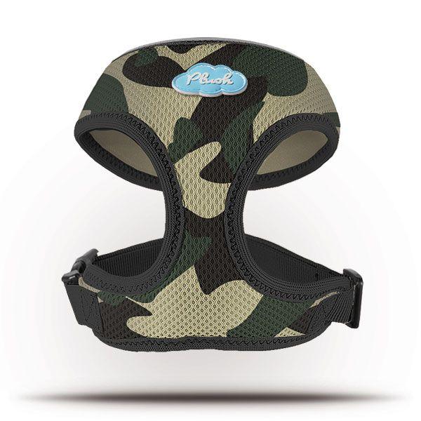 Curli Basic Geschirr Air-Mesh Camoflage XS