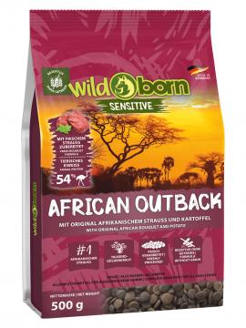 Wildborn African Outback mit Straußenfleisch 500g