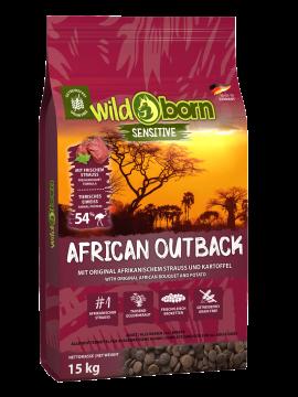 Wildborn African Outback mit Straußenfleisch 15kg