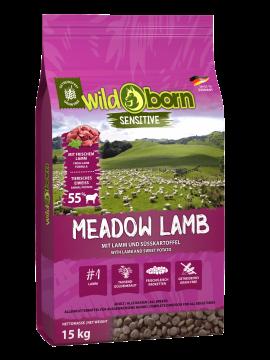 Wildborn Hundefutter getreidefrei Meadow Lamb 15kg mit Lamm