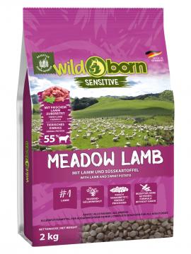 Wildborn Hundefutter getreidefrei Meadow Lamb 2kg mit Lamm