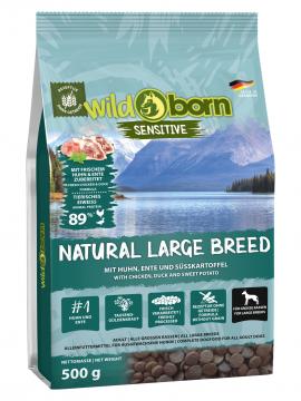 Wildborn Natural Large Breed 500g für große Hunderassen