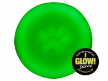 West Paw Mini Zisc Hundefrisbee 16 cm Leuchtend Glow