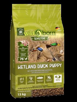 Wildborn Wetland Duck Puppy Sensitive mit viel frischer Ente 15kg