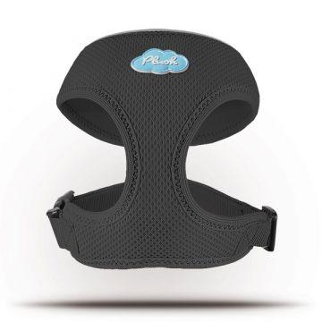 Curli Basic Geschirr Air-Mesh Schwarz XL