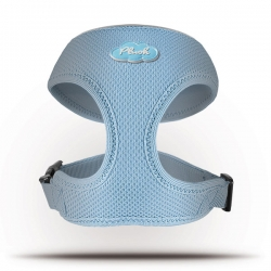 Curli Basic Geschirr Air-Mesh Skyblue XL