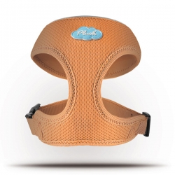 Curli Basic Geschirr Air-Mesh Orange L