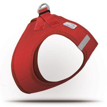 Curli Vest Geschirr Softshell Rot 3XS
