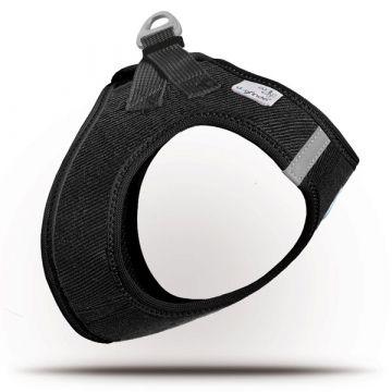 Curli Vest Geschirr Cord Schwarz 2XS