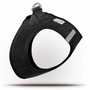 Curli Vest Geschirr Cord Schwarz XS