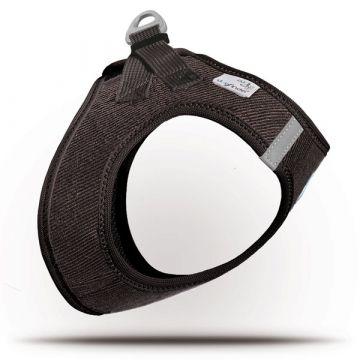 Curli Vest Geschirr Cord Braun XS