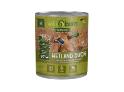 Wildborn Wetland Duck Nassfutter mit Entenfleisch 6x800g
