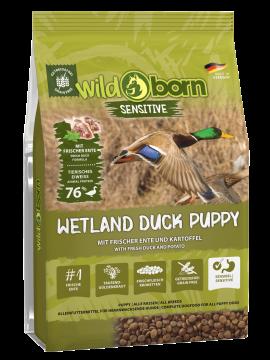 Wildborn Wetland Duck Puppy Sensitive mit viel frischer Ente 8kg