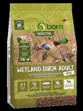 Wildborn Wetland Duck Adult MINI mit viel frischer Ente 8kg